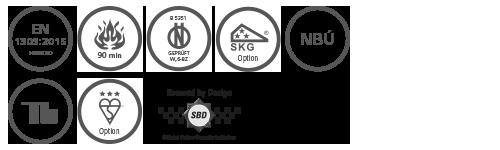 evva ics International certifications